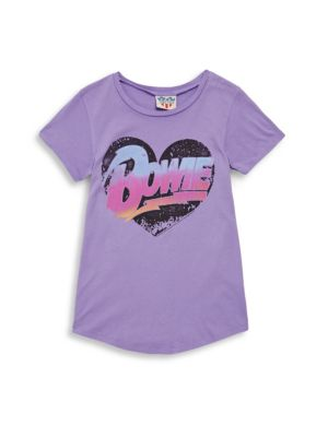 Girl's Bowie Cotton Tee