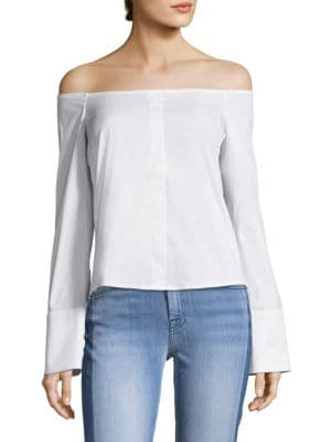 Justine Off-The-Shoulder Blouse