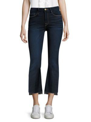 Exclusive Le Crop Mini Boot Denim Jeans