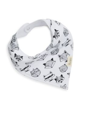 Racoon Cotton Bandana Bib