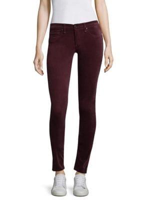 Velvet Skinny Jeans