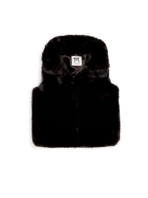 Toddler's, Little Girl's and Girl's Classy Faux Fur Vest