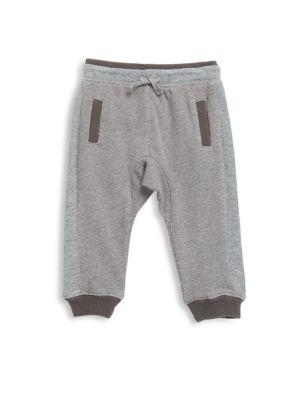 Baby's Birdseye Cotton Jogger Pants