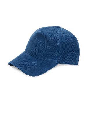 Buttoned Crown Baseball Cap