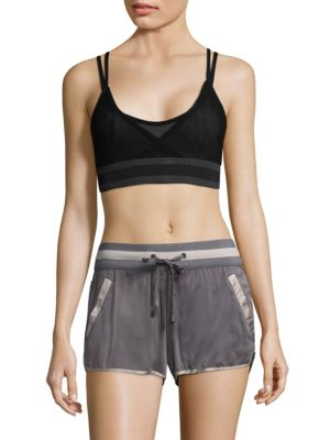 Ballet Wrap Sports Bra by Blanc Noir
