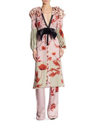 Bellifolia Silk Kimono