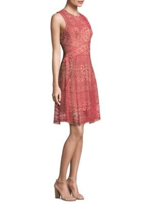 Roundneck Lace Dress