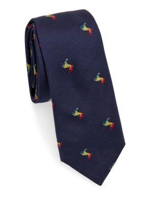 Deer Silk Tie