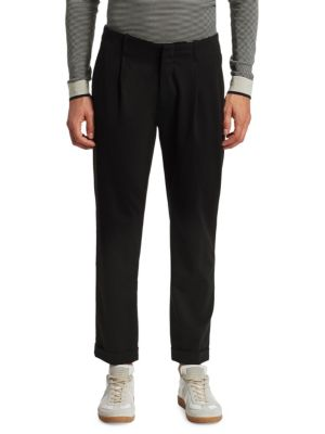 MODERN Pleated Cropped Trouser