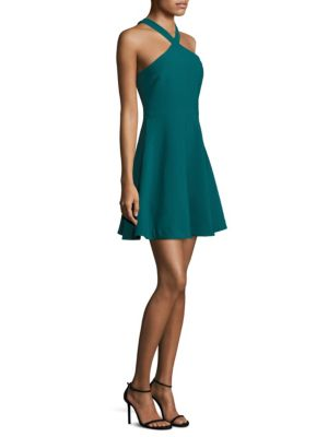 Ashland Halterneck A-Line Dress