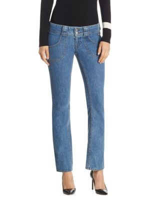BELLA FREUD x J BRAND Boy Girl Crop Jeans
