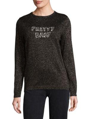 BELLA FREUD x J BRAND Pretty Baby Wool Lurex Sweater