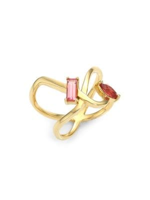 Powerful Pretty Things Pink Tourmaline Ring