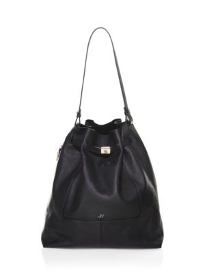 Softy Leather Bucket Bag