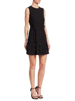Cady Ruffle-Trimmed Dress