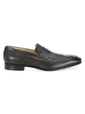 COLLECTION Saffiano Leather Penny Loafers