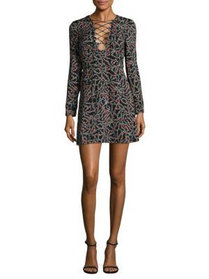 Buy SALONI Nurul Mini Dress online with Australia wide shipping