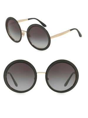 54MM Round Sunglasses