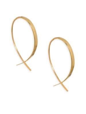Mini Upside Down Threader Earrings