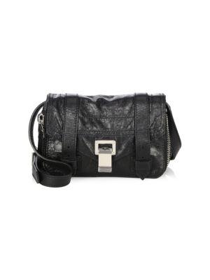 Mini PS1+ Zip-Around Leather Crossbody Bag