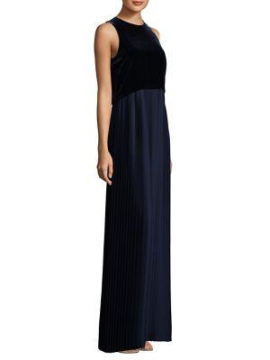 Marsiela Pleated Gown