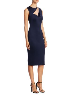 Vanessa Cowlneck Dress by Cushnie Et Ochs