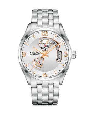 HAMILTON Stainless Steel Bracelet Watch