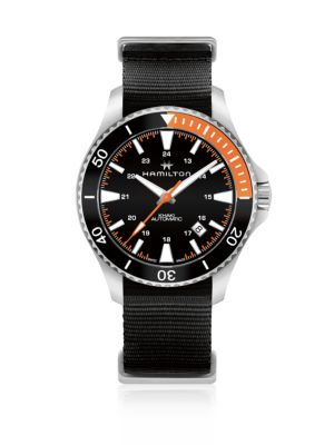 HAMILTON Scuba Stainless Steel Automatic Watch