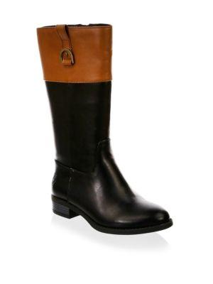 Kid's Mesa Two-Tone Knee-High Boots