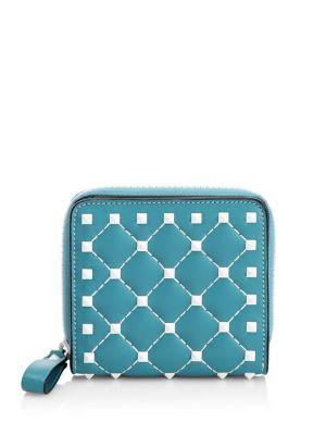 Studded Leather Wallet