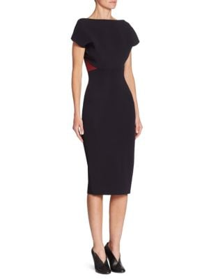 Buy Victoria Beckham Backless Fitted Dress online with Australia wide shipping