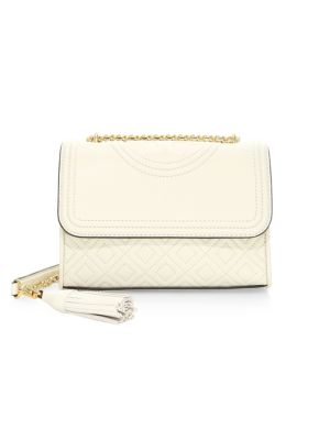Fleming Small Leather Shoulder Bag