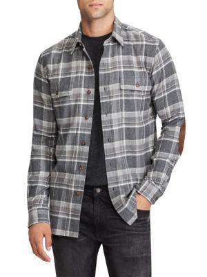 Standard Fit Cotton Workshirt