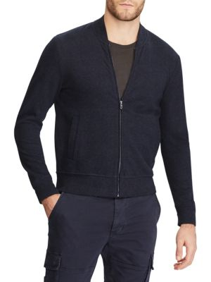Double Knit Bomber Jacket