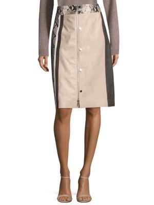 Rumi Leather Skirt