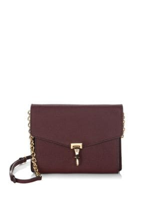 Macken Leather Crossbody Bag