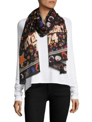 Graphic Printed Stole