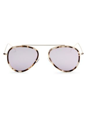 Dorchester Ace 55mm Aviator Sunglasses