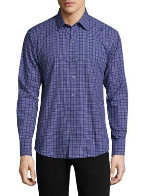 Barnum Cotton Button-Down Shirt