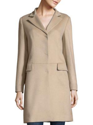 Sand Cashmere Coat