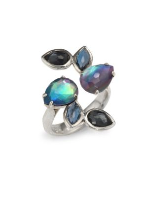 925 Rock Candy Wrap Ring