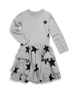 Toddler, Little Girl's & Girl's Star Cotton Dress