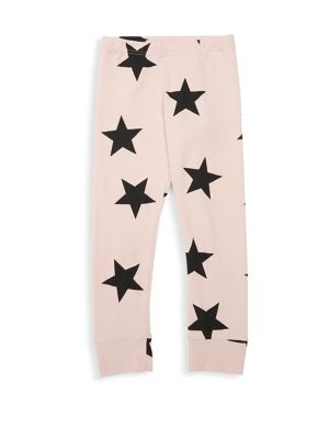 Baby's & Little Girl's Star Cotton Leggings