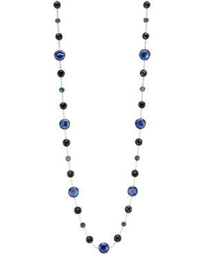 Lollipop Lollitini Sterling Silver & Multi-Stone Necklace