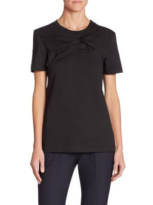 Cotton Twist Tee by Victoria, Victoria Beckham