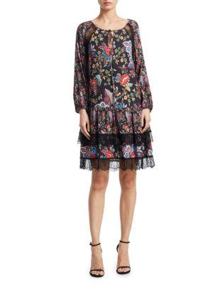 Lakita Raglan Sleeves Tunic Dress