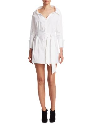 Tate Wide Neck Shirtdress