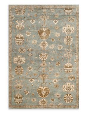 Oushak Traditional Hand Knotted Wool Rug