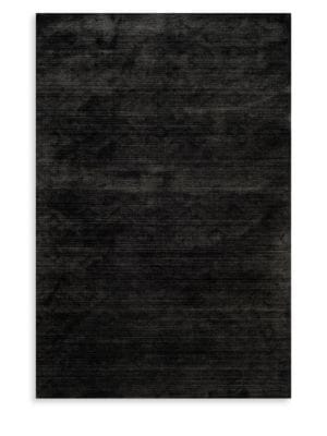 Mirage Anthracite Patterned Rug