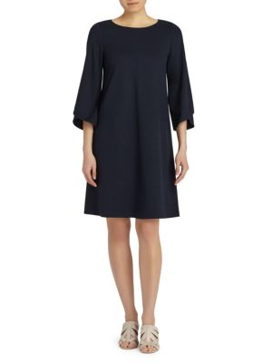 Fabiana Three-Quarter A-Line Dress